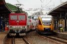263 012-7 z wagonami Push-Pull # spalinowy RegioJET